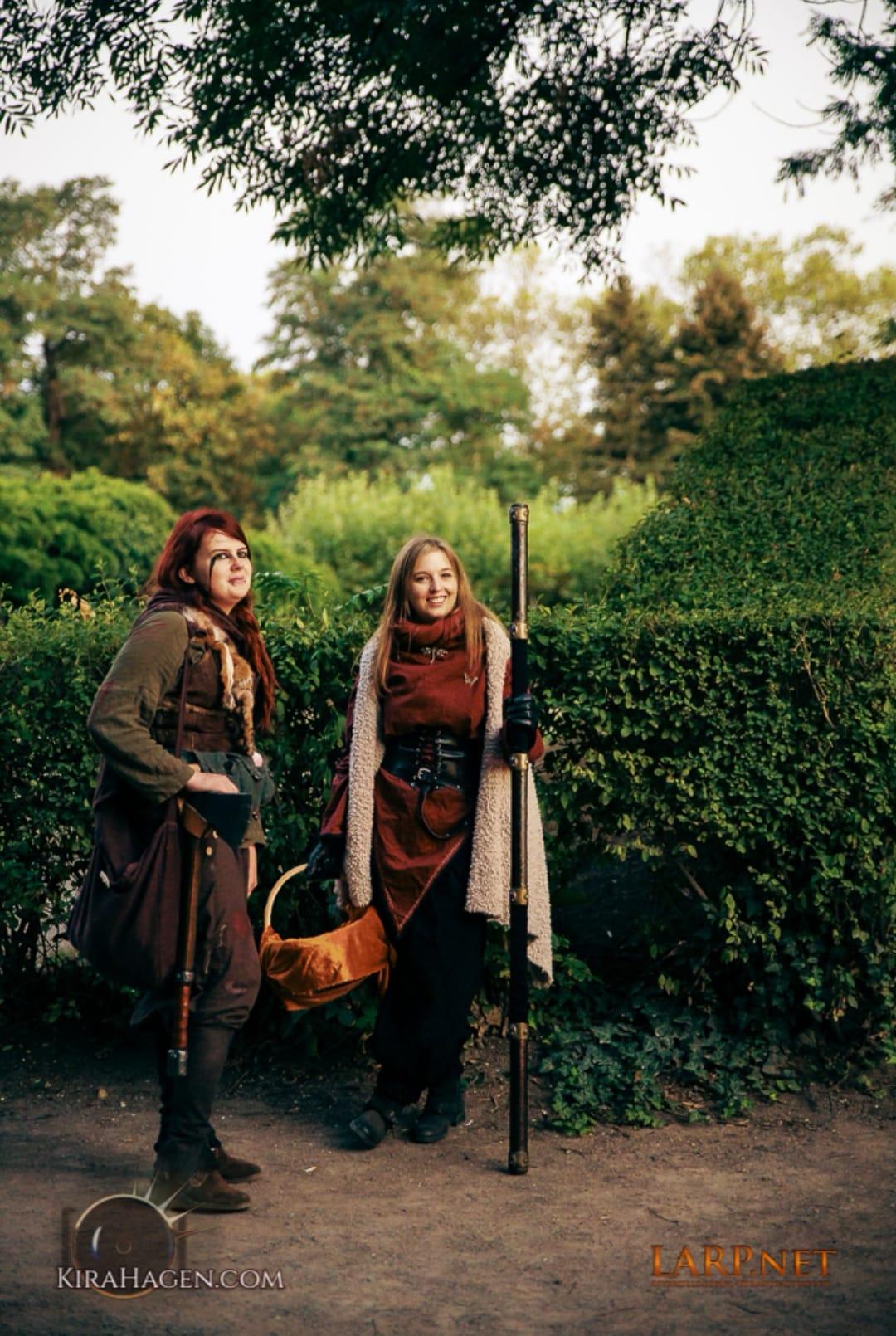 Anastasya und Sophia