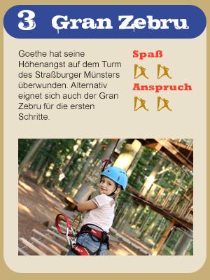 Hochseilgarten Parkours Gran Zebru