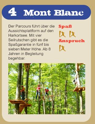 Hochseilgarten Parkours MontBlanc