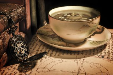Kaffeetasse Taschenuhr