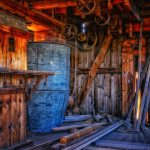 """Als """"Jäger und Sammler"""" bei der alten Mühle"""