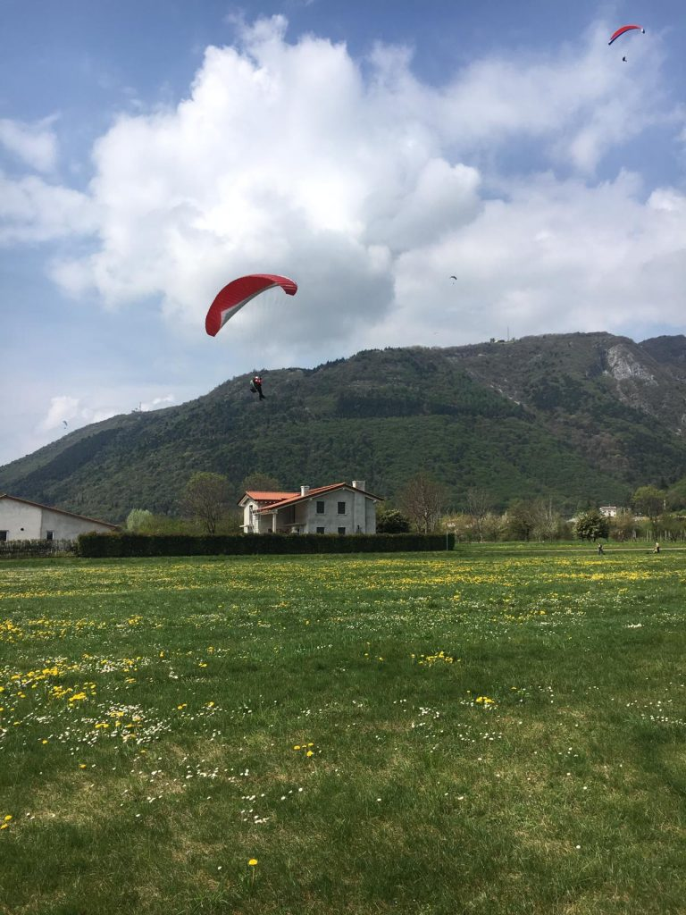 Paragliding Bassano