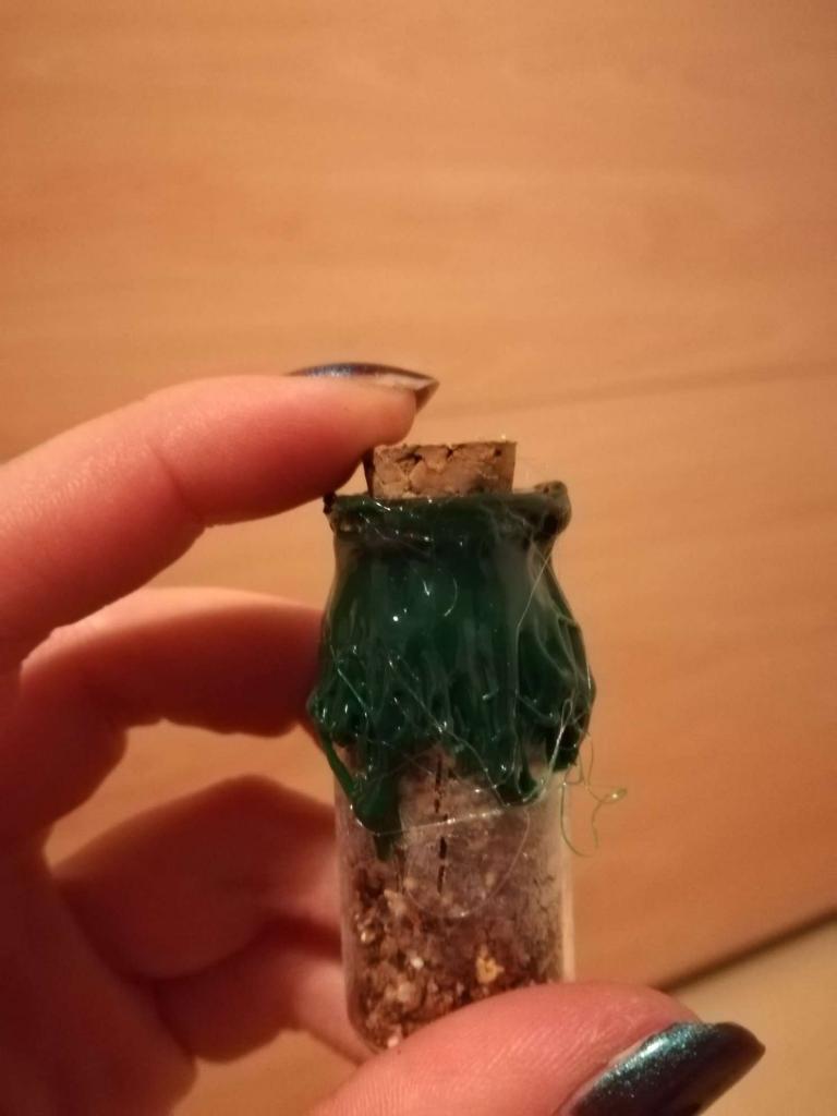 Alchemie-Flasche