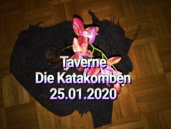 """Seelen-Orchidee – Taverne """"Die Katakomben"""" 25.01.2020"""