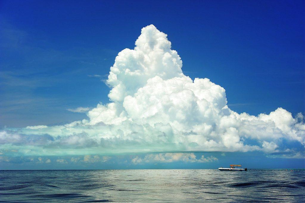 Wolken Wetter erkennen - Cumulus