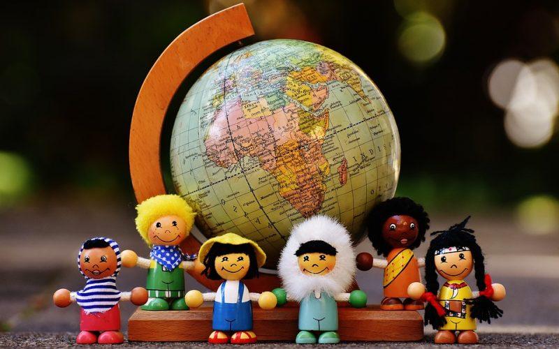 Verschiedene Nationalitäten